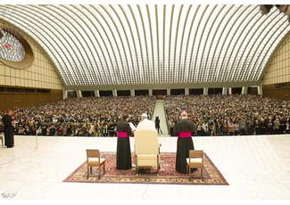 Audiencia del Papa al Movimiento Cursillos de Cristiandad