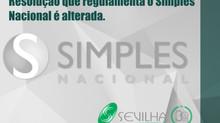 Simples Nacional: Resolução que regulamenta o Simples Nacional é alterada.