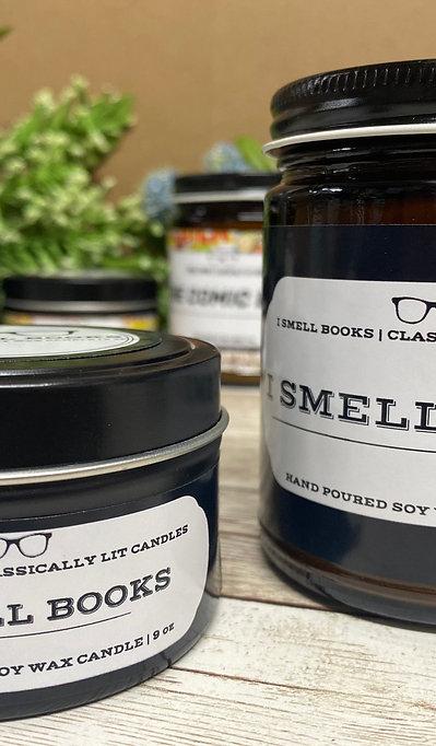 I Smell Books Candle 9 oz