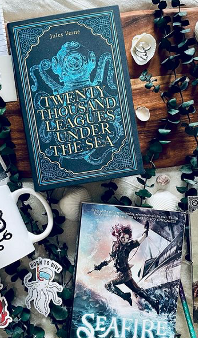 May Classic Book Box - Twenty Thousand Leagues Under the Sea
