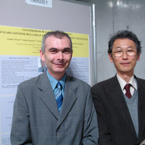 With Prof. M.Satoh at Tokyo Tech (2009)