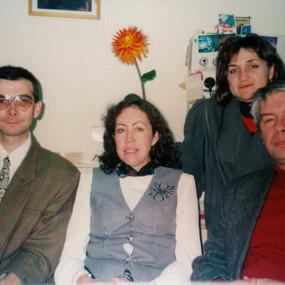 Me, Prof. G.Perez-Caballero, Dr. T.Stoyanova and Prof. S.Stoyanov (University of Sofia, 1997)