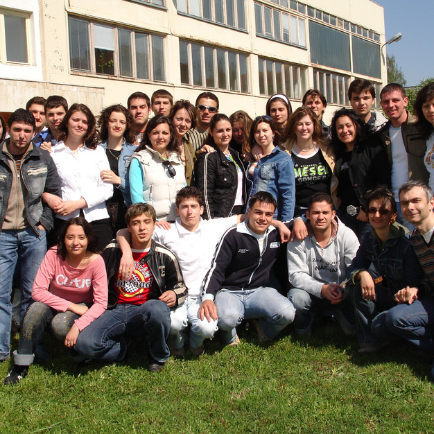 After the last lecture at University of Forestry (2006)