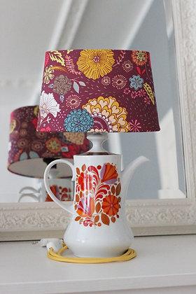 Flowery Teapot