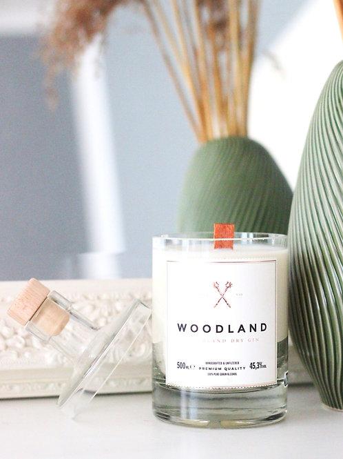 Kerze - Woodland