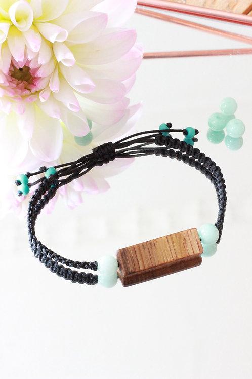 Armband mit  Makramee-Verschluss
