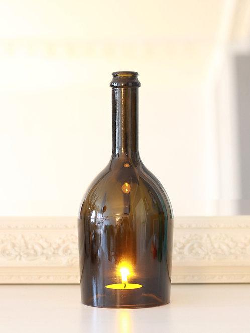 Windlicht aus Sektflasche