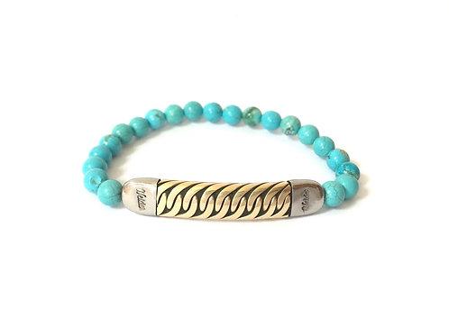 Bronze Bead Bracelet