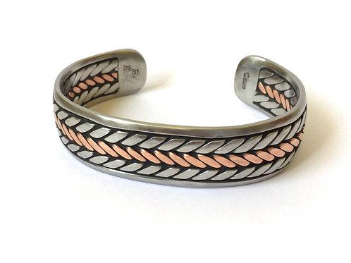 Solid Copper Center Welder Bracelet's