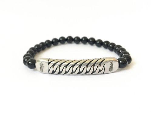 Crossover Bead Bracelet