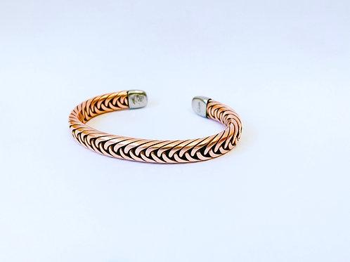 Copper Weave Bracelet