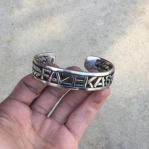Custom Vendetta Bracelet with Name in it