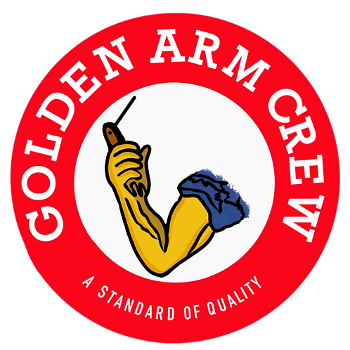 Golden Arm Sticker