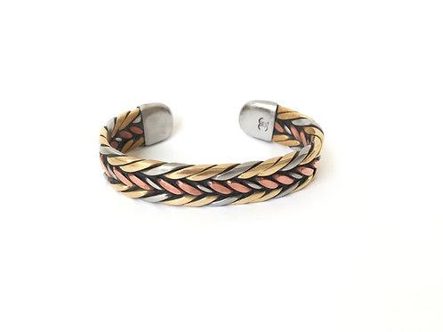 Bronze and Copper Bracelet