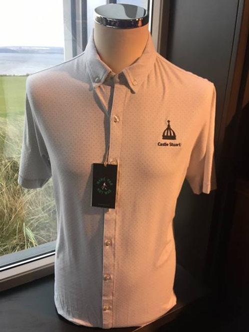 LINKSOUL Pin Dot Button-down Polo