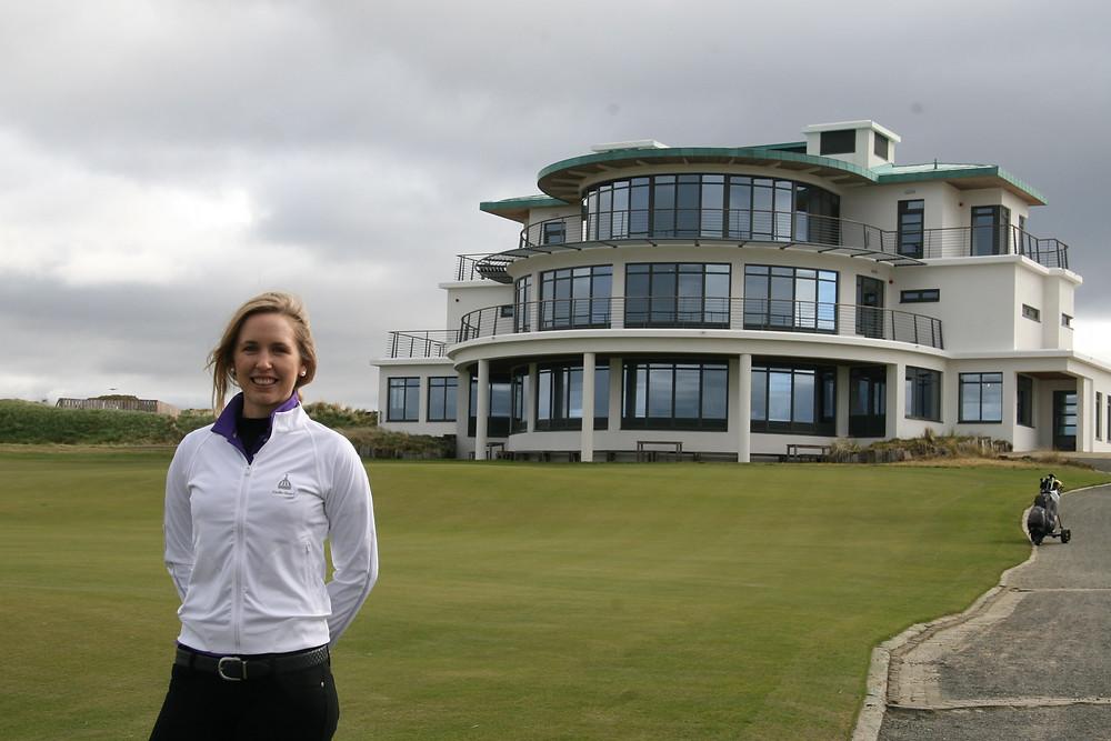 Sally Watson at Castle Stuart