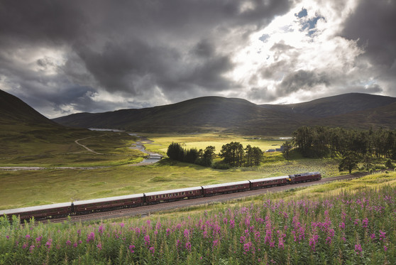 Royal Scotsman Guests Will Be Kings Of The Castle