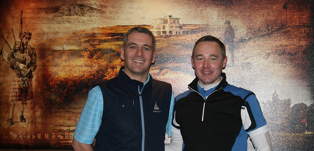 Local Open winner 2018 Liam Hutchison (right) with Castle Stuart director of golf Jeremy Matte.jpg