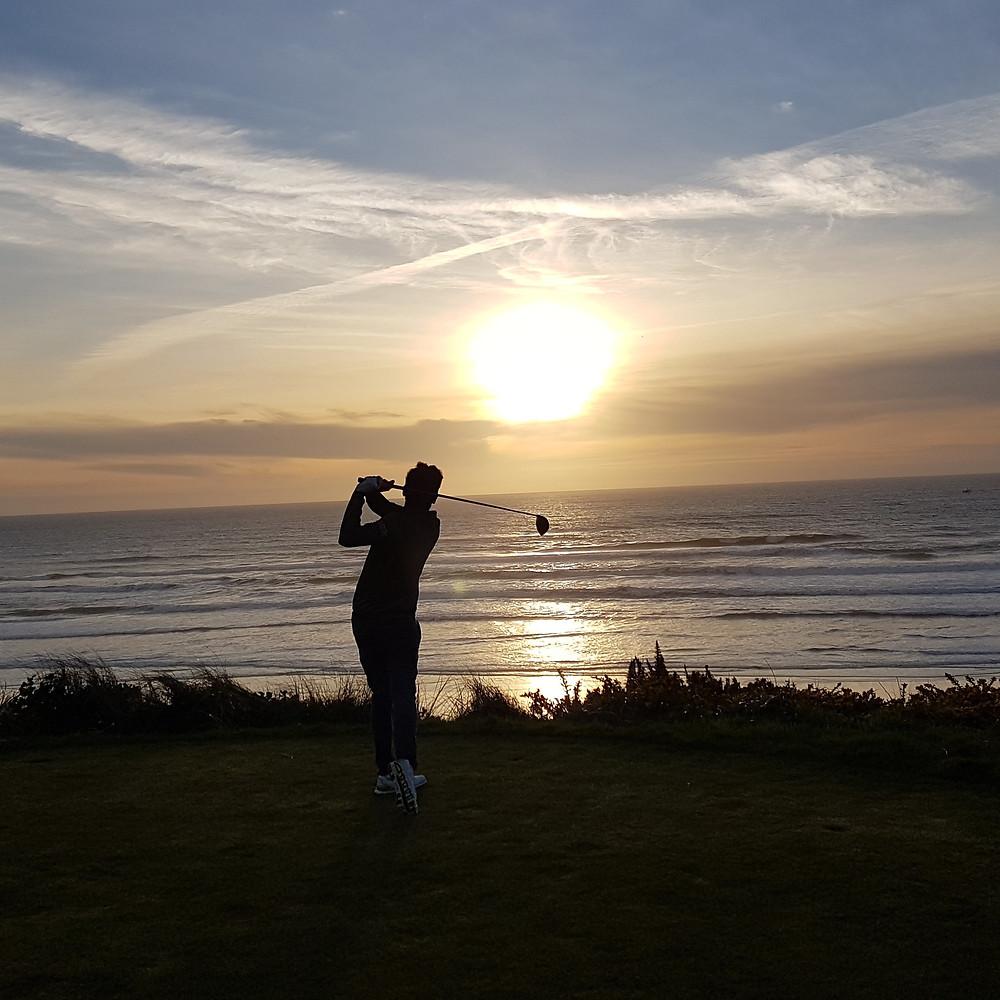 Sean Gunn Emirate Golf Club