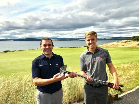 Castle Stuart Pitches In To Help Club Re-Use Scheme