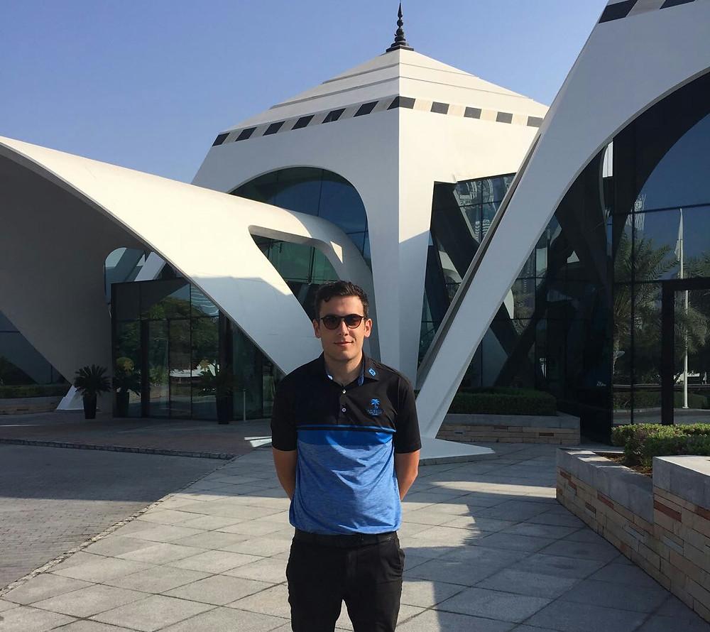 Sean Gunn Castle Stuart Emirate Golf Club Dubai