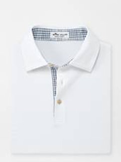 Peter Millar Contrast Trim Performance Polo