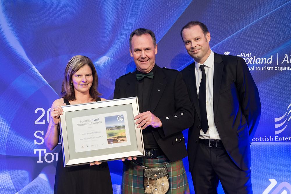 Castle Stuart Scottish Golf Tourism Awards