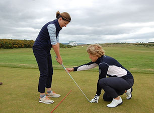 golf lesson with Gillian S.jpg