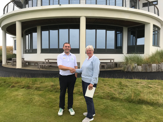 June Clark Takes Highland Ladies Golf Title At Castle Stuart