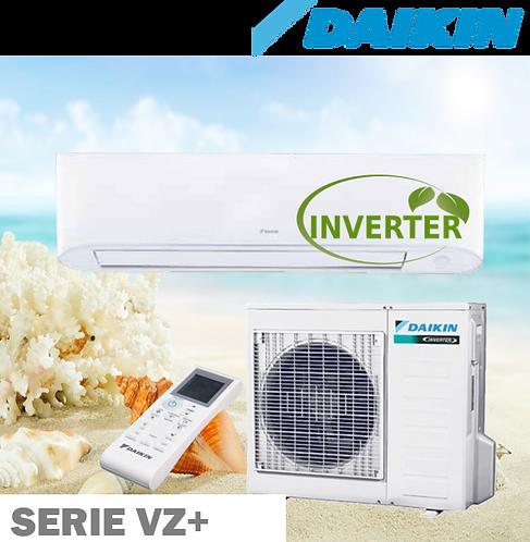 Equipo Minisplit Inverter, Solo Frío de 1 a 2 Toneladas 20 SEER