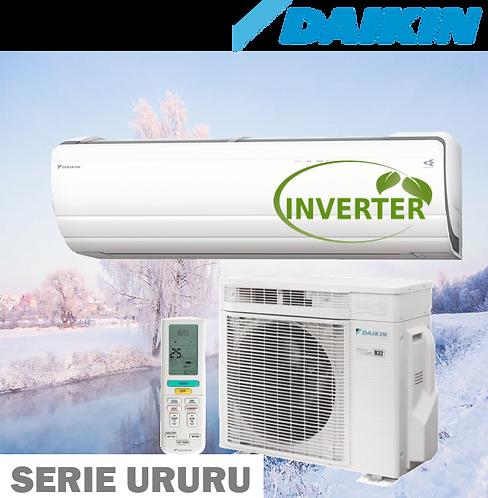 Equipo Minisplit Inverter, Frío/Calor de 3/4 a 1.5 Toneladas 25 SEER