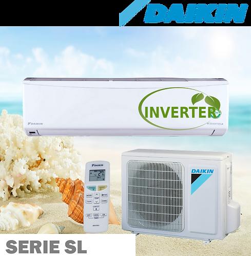 Equipo Minisplit Inverter, Solo Frío de 1 a 2 Toneladas 18 SEER