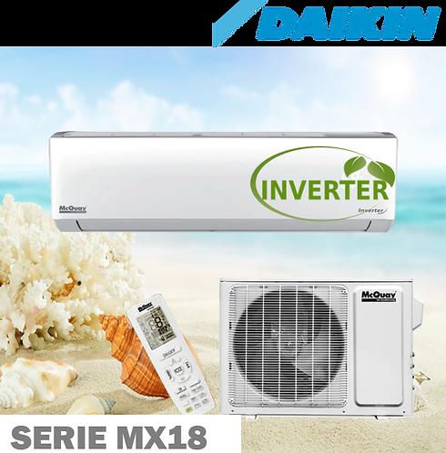 Equipo Minisplit Inverter, Solo Frío de 3 Toneladas 18 SEER