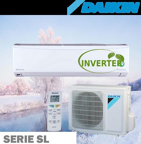 Equipo Minisplit Inverter, Frío/Calor de 1 a 2 Toneladas 18 SEER