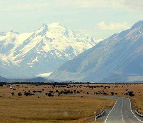 Transport options to Mt Cook