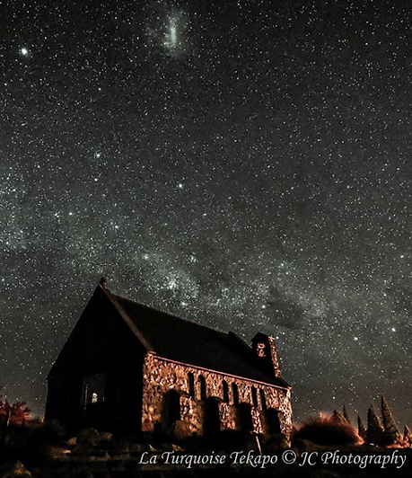 Star-gazing at the Church of the Good Shepherd