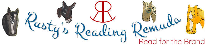 Rusty's Reading Remuda - Read for the Brand - Logo