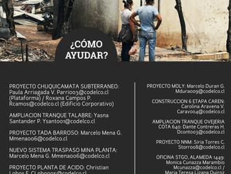 Campaña Solidaria por Incendios en el Sur de Chile