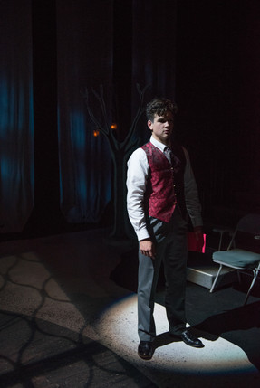 The Winter's Tale SC Governor's School Directed by Jayce Tromsness Costumes by Jessica Snyder Scenery by Jayce Tromsness Photos by Karl Trump