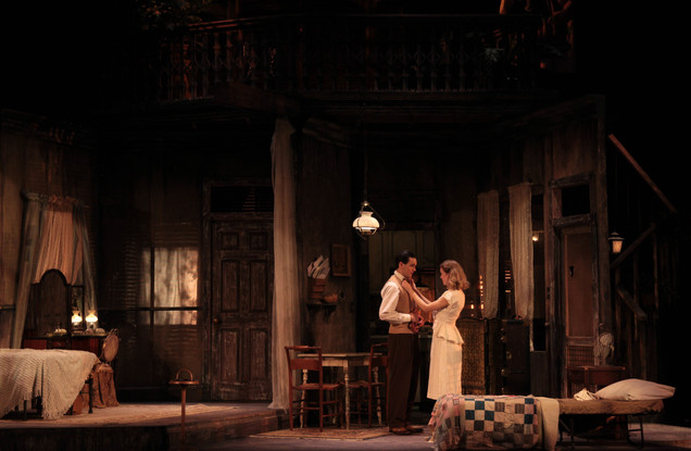 A Streetcar Named Desire Clemson University Directed by Kerrie Seymour Costumes by Kendra Johnson Scenery by Shannon Robert Photos by Wylder Cooper
