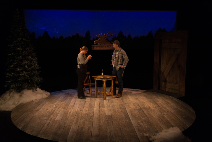 Almost, Maine Clemson University 2016 Directed by Shannon Robert Scenery by Brandon Roak Costumes by Kendra Johnson Photos by Wylder Cooper