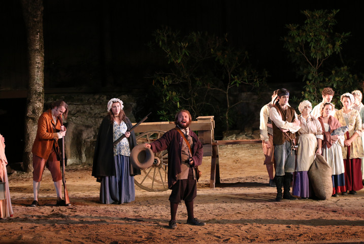 Horn In The West 2017 Directed by Chris Bellinger Costumes by Melody Ramsey Photos by David Goodman