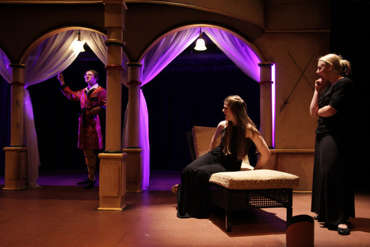 Twelfth Night Clemson University Directed by Rick St.Peter Costumes by Kendra Johnson Scenery by David Hartmann Photos by Wylder Cooper