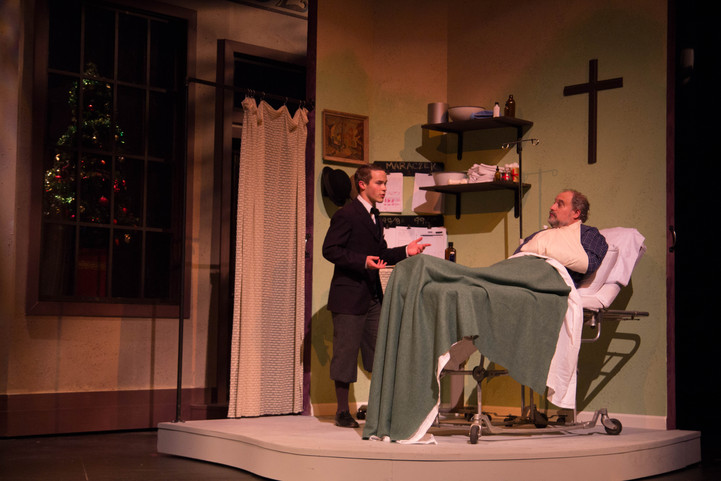 She Loves Me Clemson University 2016 Directed by Chip Egan Scenery by David Hartmann Costumes by Kendra Johnson Photos by Wylder Cooper