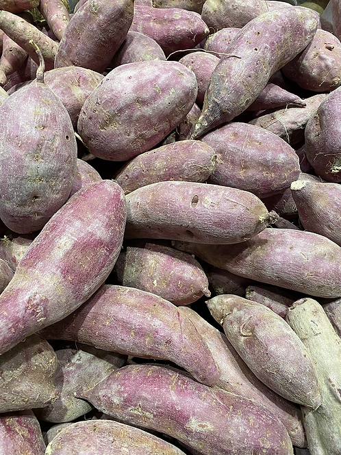 (Yams) Potatoes, Purple