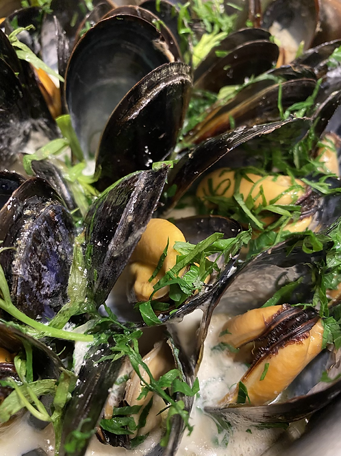 Mussels + Broth