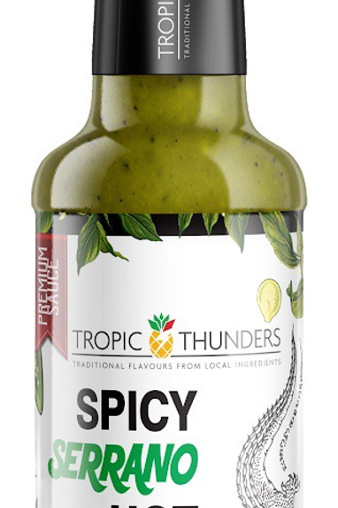 Hot Sauce, Serrano Alligator, Tropic Thunders 168