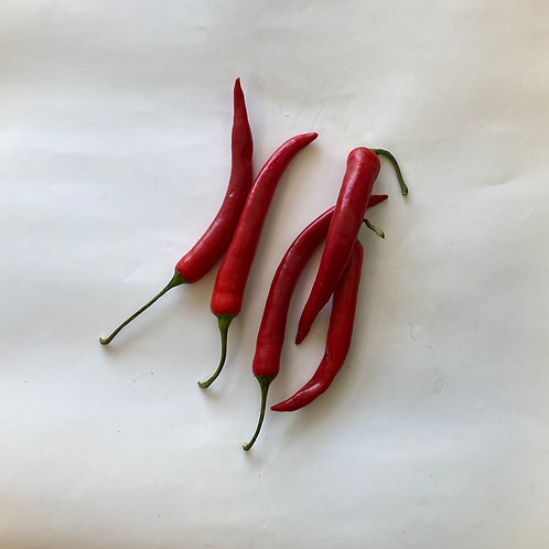 Chilies Peppers, Red Finger
