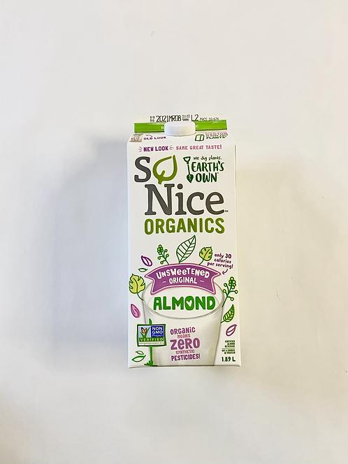 Milk, Almond - Organic