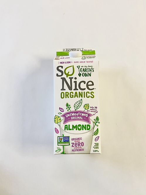 Milk, Almond